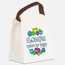 CLOGGING Canvas Lunch Bag