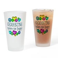 CROCHET Drinking Glass