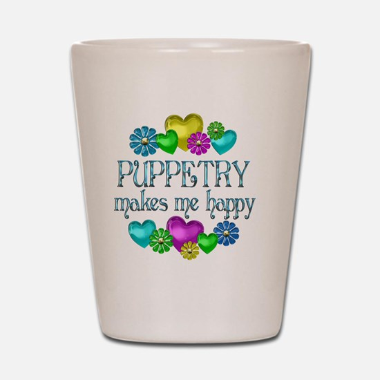 PUPPETRY Shot Glass