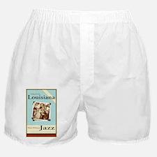 Travel Louisiana Jazz Boxer Shorts