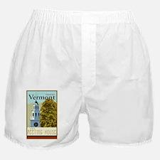 Travel Vermont Boxer Shorts