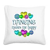 Dance Square Canvas Pillows
