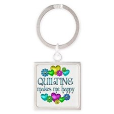 QUILT Square Keychain