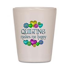 QUILT Shot Glass