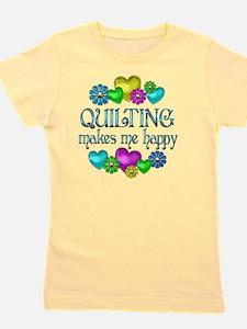 QUILT Girl's Tee