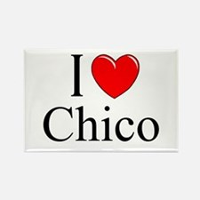 """""""I Love Chico"""" Rectangle Magnet"""
