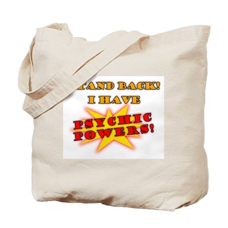 Psychic Powers Tote Bag