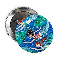 "mermaid race 2.25"" Button"