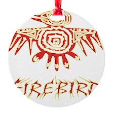 Fire Bird Ornament