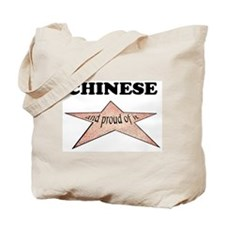 Chinese and proud of it Tote Bag
