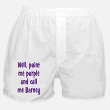 barney_tall2 Boxer Shorts
