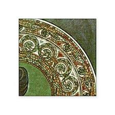 """am_emerald8tile2 Square Sticker 3"""" x 3"""""""