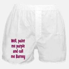 barney_tall1 Boxer Shorts