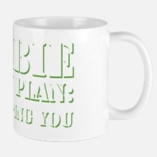 zombie action plan W Mug
