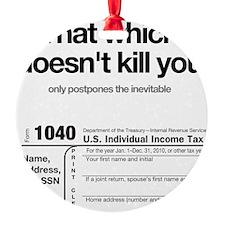 kill-you-onWHITE Ornament
