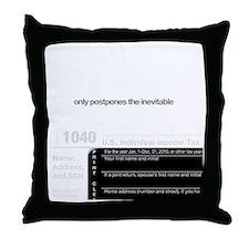 kill-you-onBLACK Throw Pillow