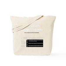 kill-you-onBLACK Tote Bag