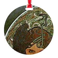 am_emerald8tile1 Ornament