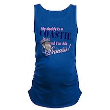 coastie princess Maternity Tank Top