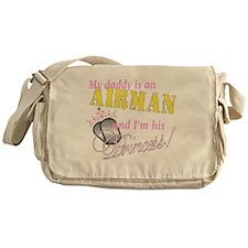 airman princess Messenger Bag