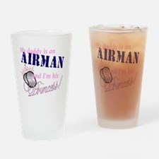 airman princess Drinking Glass