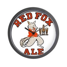 redfoxalewh Wall Clock