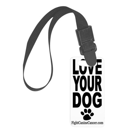 LoveYourDog_FCC Small Luggage Tag