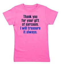 gift-sarcasm_rnd1 Girl's Tee