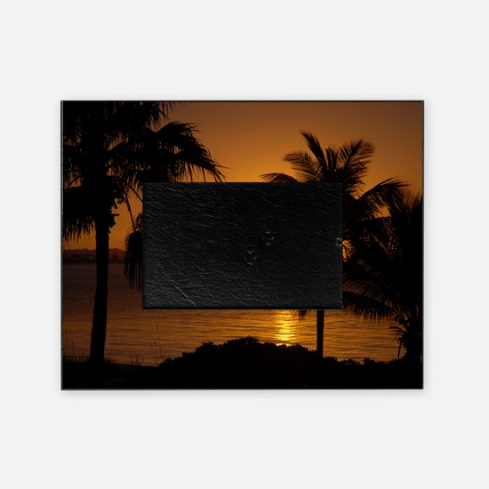 Grace Bay Sunset Picture Frame