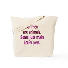 men-animals_rnd1 Tote Bag