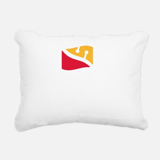 DiveRite_for_CP_dark_tee Rectangular Canvas Pillow