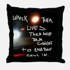 JoyceRuin Throw Pillow
