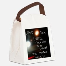 JoyceRuin Canvas Lunch Bag