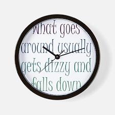 goes-around1 Wall Clock
