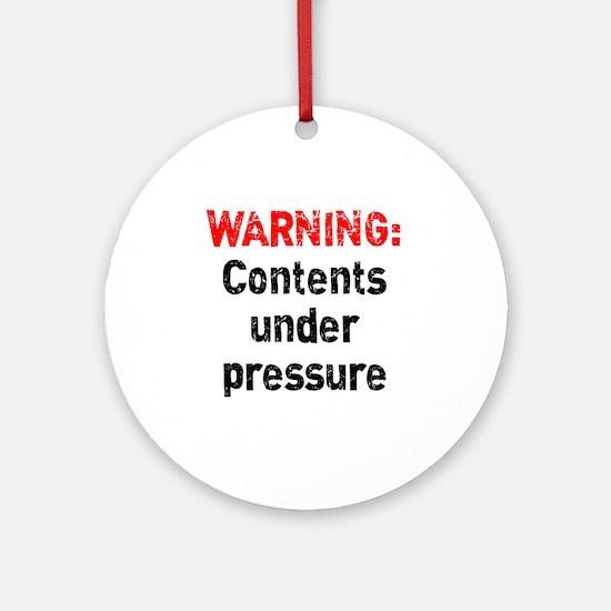 pressure1 Round Ornament