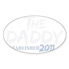 the daddy est 2011_dark Decal