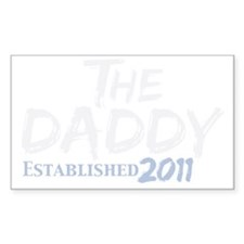 the daddy est 2011_dark Decal