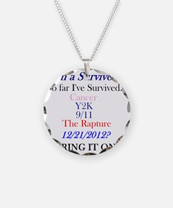 survivorcancer Necklace