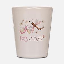 big sister drgonfly 2 Shot Glass