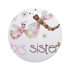 big sister drgonfly 2 Round Ornament