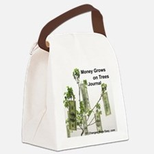 money grows on trees journal Canvas Lunch Bag