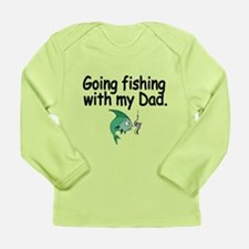 Going Fishing With My Dad Long Sleeve T-Shirt