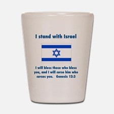 stand_w_israel Shot Glass