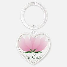Lotus-Casino Heart Keychain