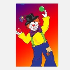 23x35_Clown Poster_4 Postcards (Package of 8)