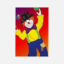 23x35_Clown Poster_4 Rectangle Magnet
