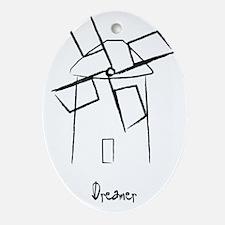 Dreamer.gif Oval Ornament