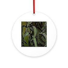 am_emerald8tile7 Round Ornament
