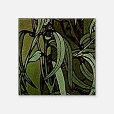 """am_emerald8tile7 Square Sticker 3"""" x 3"""""""