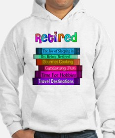 Retired BOOK STACK Jumper Hoody
